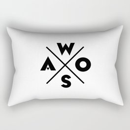 WOSA - World of Street Art Rectangular Pillow