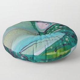 Abstract Art Modern Surreal Floor Pillow