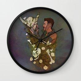 One Less Venatori Wall Clock