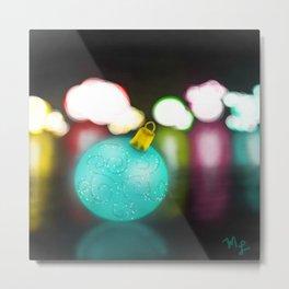 Holiday Glow Metal Print