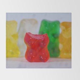 Losing My Mind (The Gummie Bears Photo Original) Throw Blanket