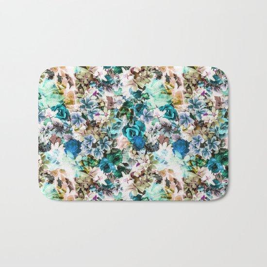 Floral Pattern V2 Bath Mat