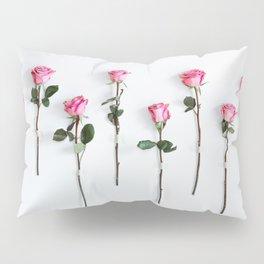 Pink Roses Pillow Sham