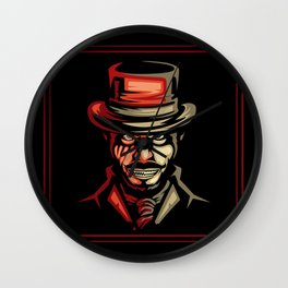 Dr jekyll Half Monster Wall Clock