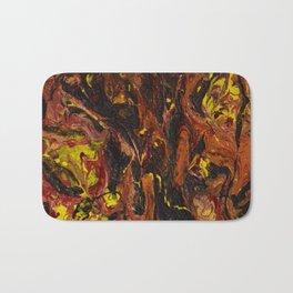 Open Flame Bath Mat