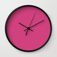pantone Wall Clocks featuring Magenta (Pantone) by List of colors