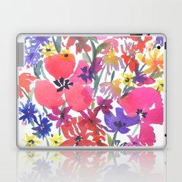 Little Pink Poppies Laptop & iPad Skin
