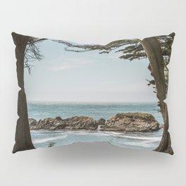 Sea Ranch Beach Lookout Printable Wall Art | California Nature Ocean Coastal Travel Photography Print Pillow Sham