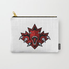 Dino Red Leaf Carry-All Pouch