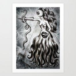 Clairvoyant Art Print