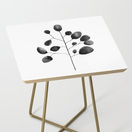 Watercolor Leaves Side Table
