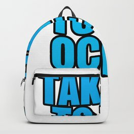 Ocean Diving Swimming holiday gift Backpack