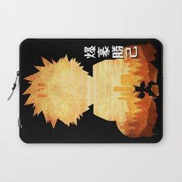Minimalist Silhouette Bakugo Laptop Sleeve