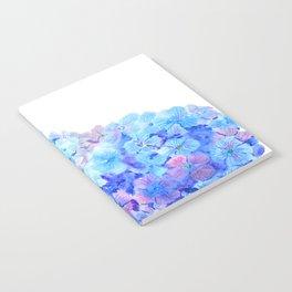 mountain of hydrangea Notebook