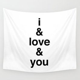 i & love & you Avett Brothers Wall Tapestry