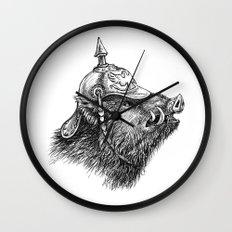 War Pig Wall Clock