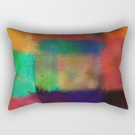 Abstract Study Five abstract art by Ann Powell Rectangular Pillow