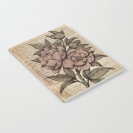 Peonies  - Color Notebook