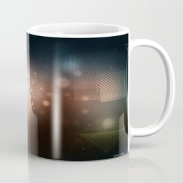 Squaristic ligths Coffee Mug