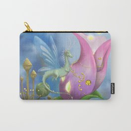 Dragonfly Time Carry-All Pouch