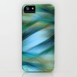 Soft Feathered Lights Abstract iPhone Case