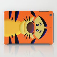 cartoons iPad Cases featuring Cute Orange Cartoons Tiger Apple iPhone 4 4s 5 5s 5c, ipod, ipad, pillow case and tshirt by Three Second