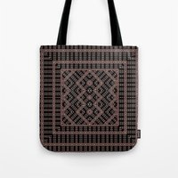 dna Tote Bags featuring DNA by Vigus
