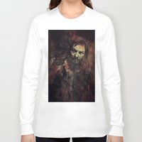 daryl dixon Long Sleeve T-shirts featuring Daryl Dixon by Sirenphotos