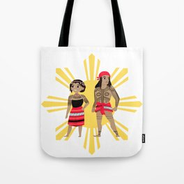 Philippines: Tribal Tote Bag