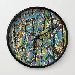 Forest Inner Trail Wall Clock