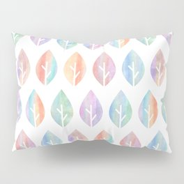 Painted Leaves Pillow Sham