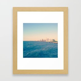 Cleveland Skyline  Framed Art Print