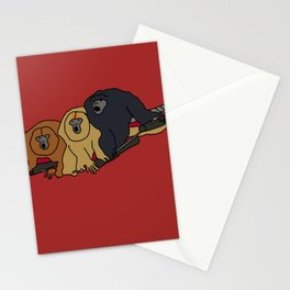 Howler Monkeys Stationery Cards