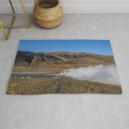 Namafjall geothermal Iceland Rug