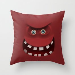 BOXAAT RED Throw Pillow