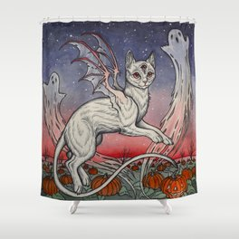 Spirits Of All Hallows Eve Shower Curtain