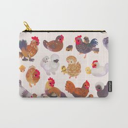Chicken and Chick Carry-All Pouch