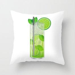Mojito Throw Pillow