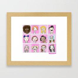 Boobies Framed Art Print