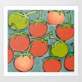 you had me at 'tomato' Art Print