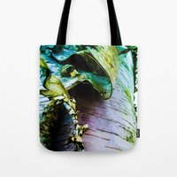 birch Tote Bags featuring birch by Jeni Decker