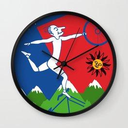 The Hoffman's Trip Wall Clock