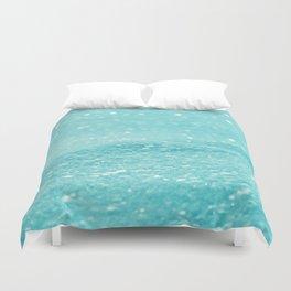Glitter Turquoise Duvet Cover
