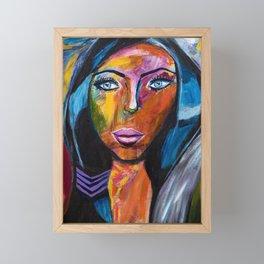 Powerful Woman Framed Mini Art Print