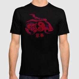 Yiquan red T-shirt