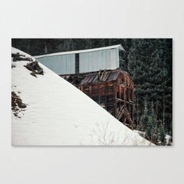 Silverton Mine Canvas Print