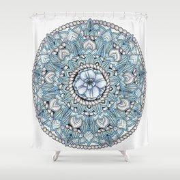 Mandala: Tropics Intertwined Shower Curtain