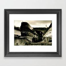 Underworld Framed Art Print