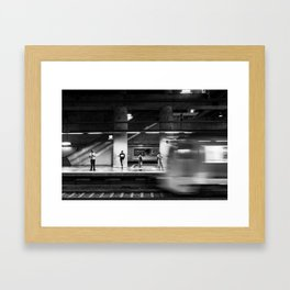 Day-To-Day Framed Art Print
