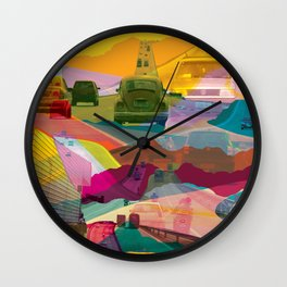 Infinity Road Wall Clock